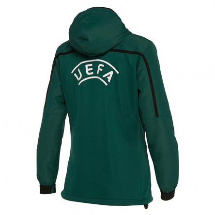 WOMAN FULL ZIP TRAVEL TOP UEFA