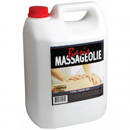 BASIS MASSAGEOLIE 5 LITER